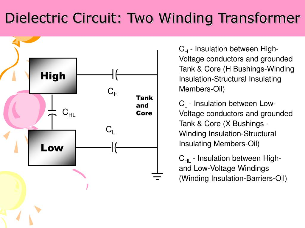 Dielectric Circuit: Two Winding Transformer