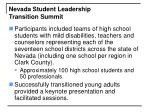 nevada student leadership transition summit17