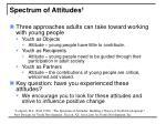 spectrum of attitudes 1