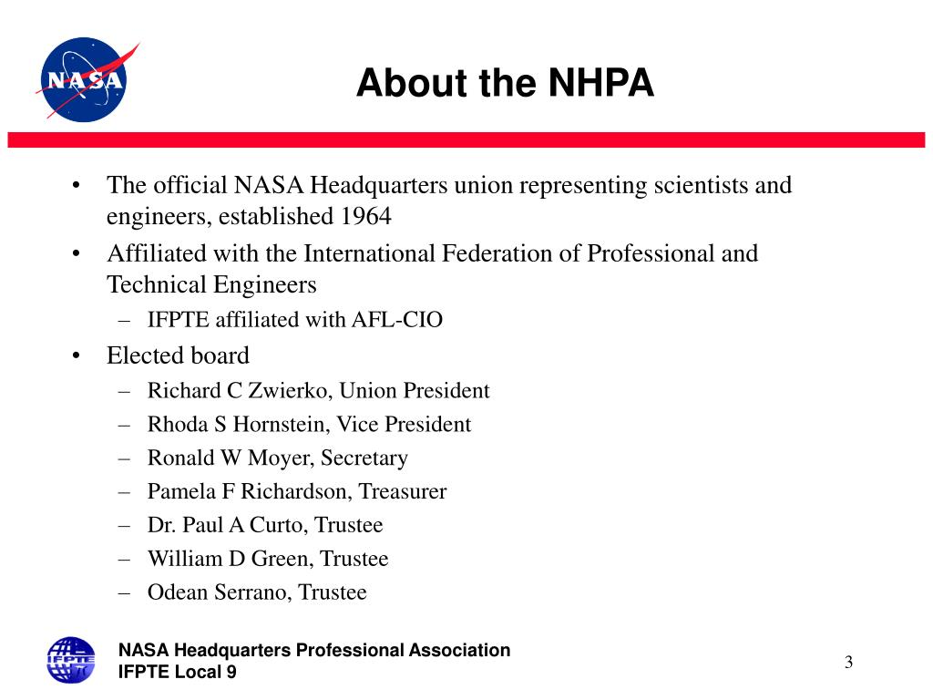 About the NHPA