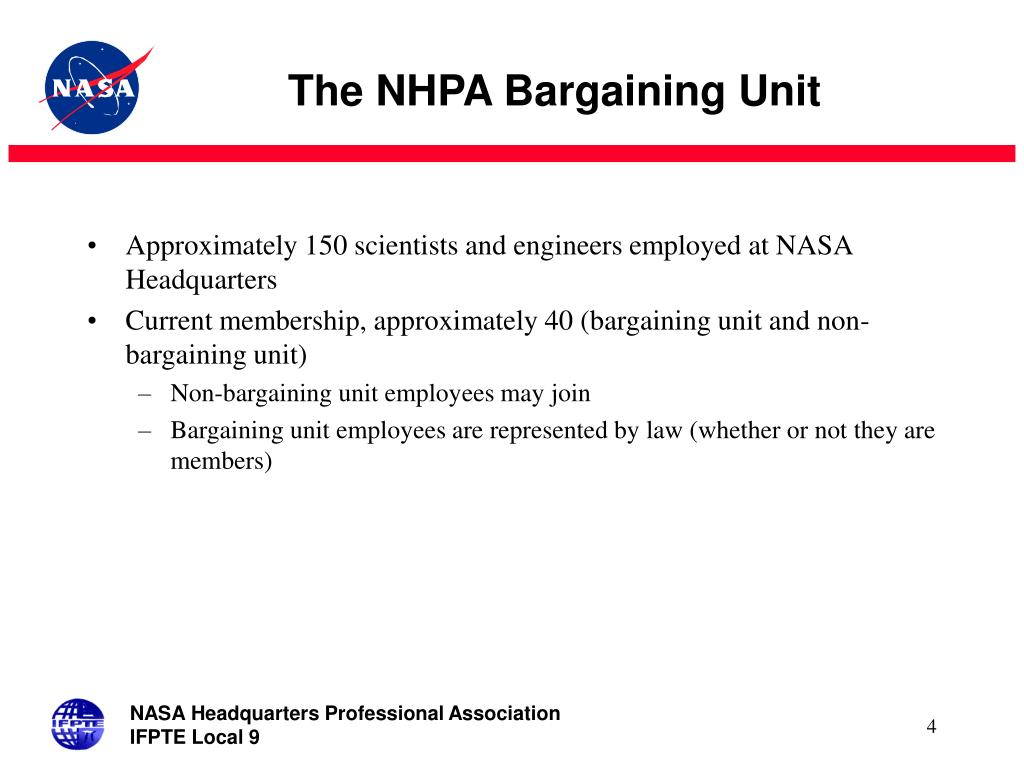 The NHPA Bargaining Unit
