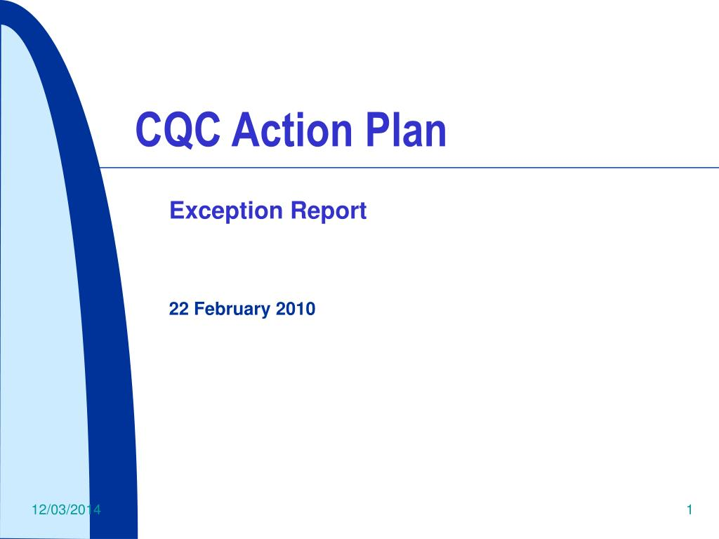 CQC Action Plan