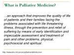 what is palliative medicine10