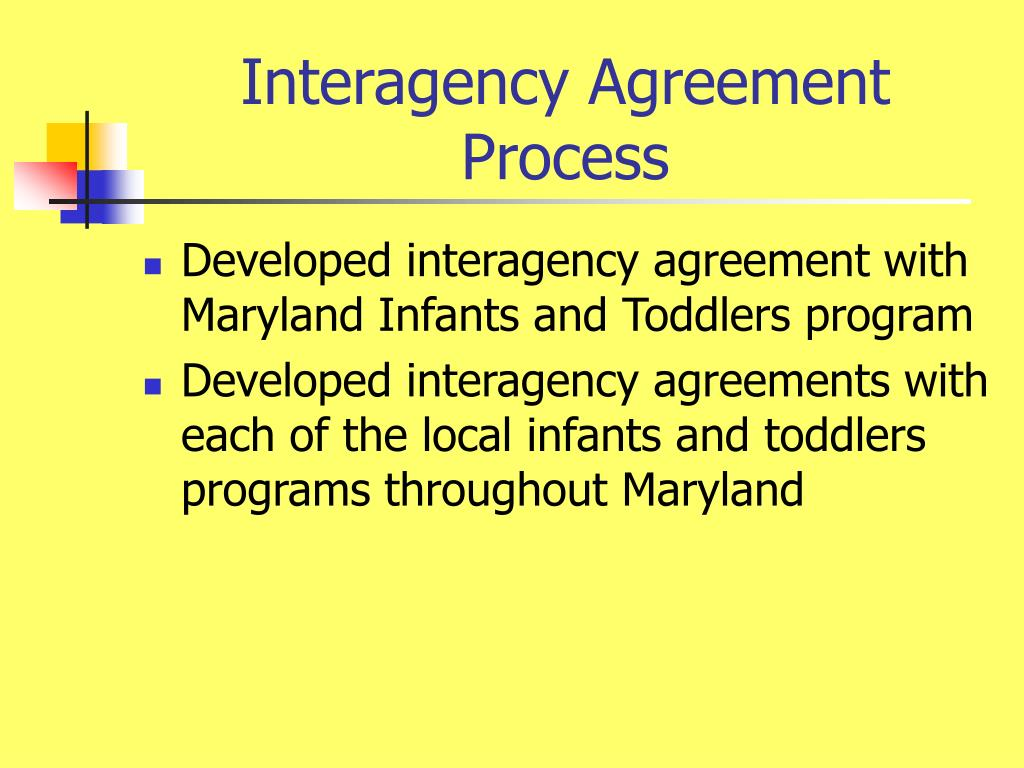 Interagency Agreement Process