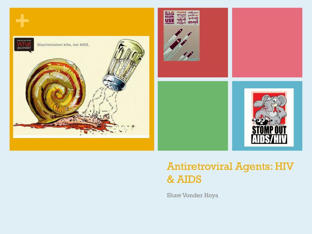 antiretroviral agents hiv aids