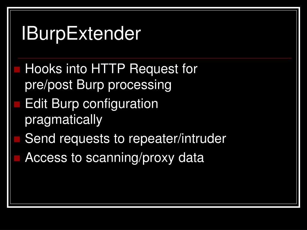 IBurpExtender