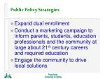 public policy strategies38