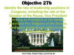 objective 27b