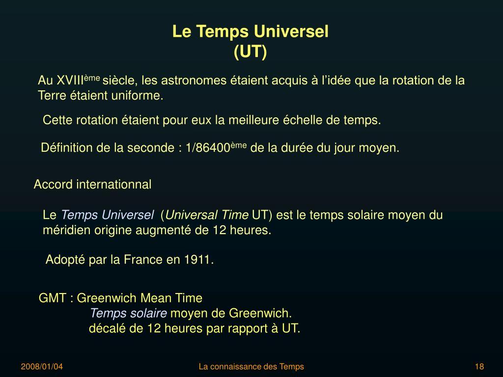 Le Temps Universel