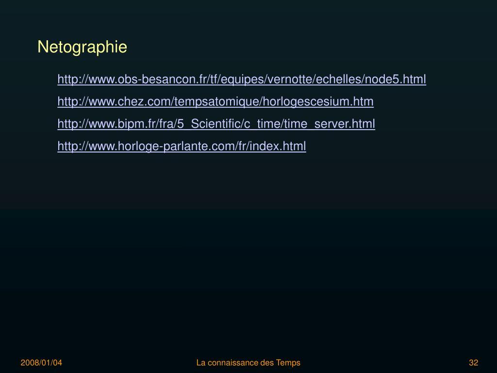 Netographie