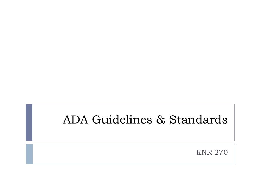 ada accessibility guidelines adult adhd
