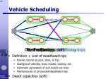 vehicle scheduling44