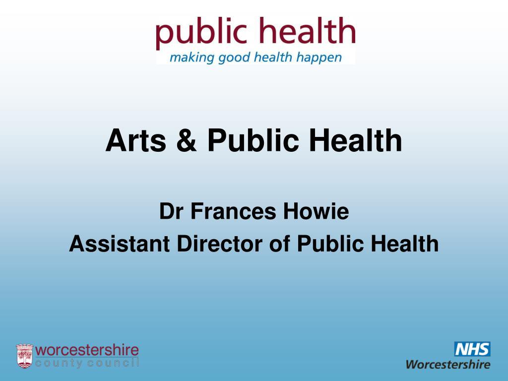 Arts & Public Health