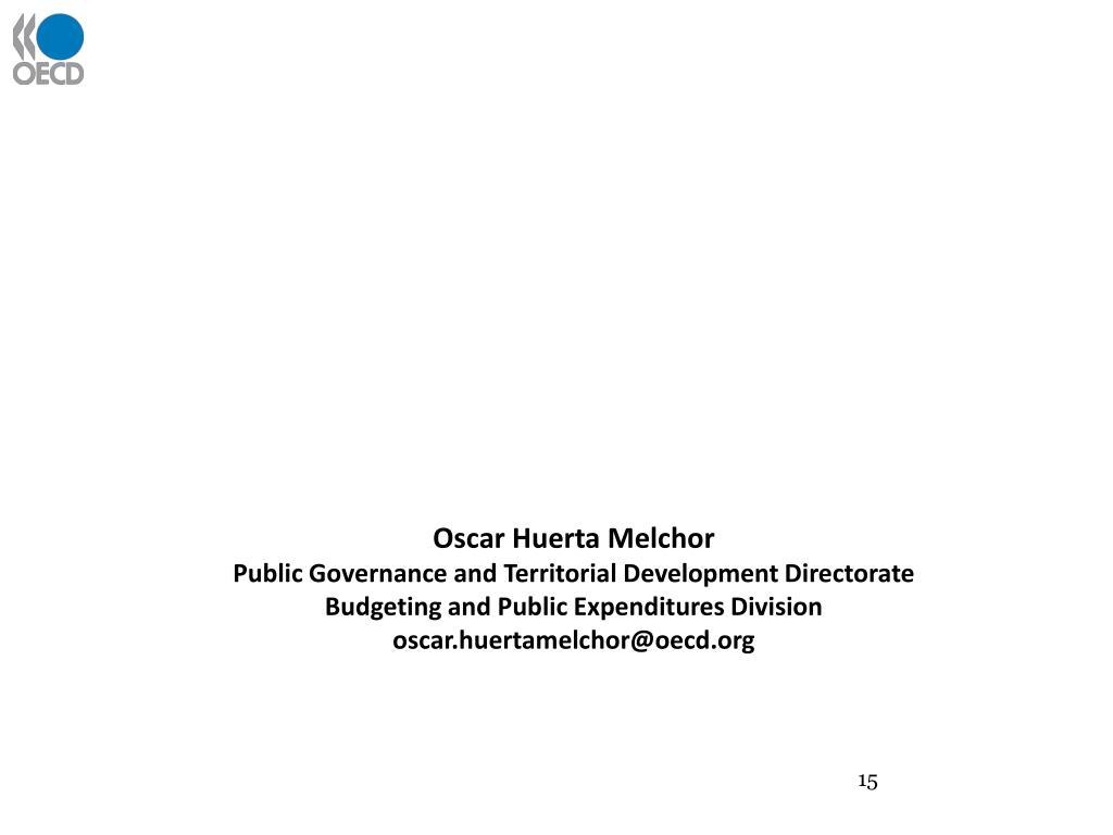 Oscar Huerta Melchor