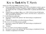 key to task 6 by t nav s