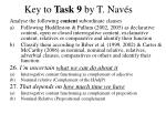 key to task 9 by t nav s