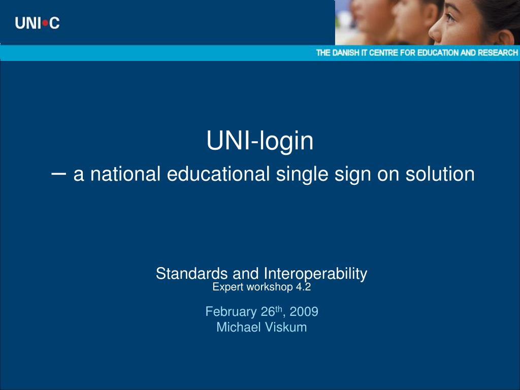 uni login a national educational single sign on solution
