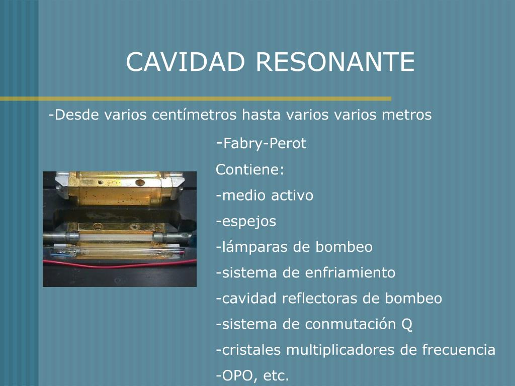 CAVIDAD RESONANTE