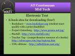 at continuum mid tech32