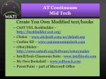 at continuum mid tech38