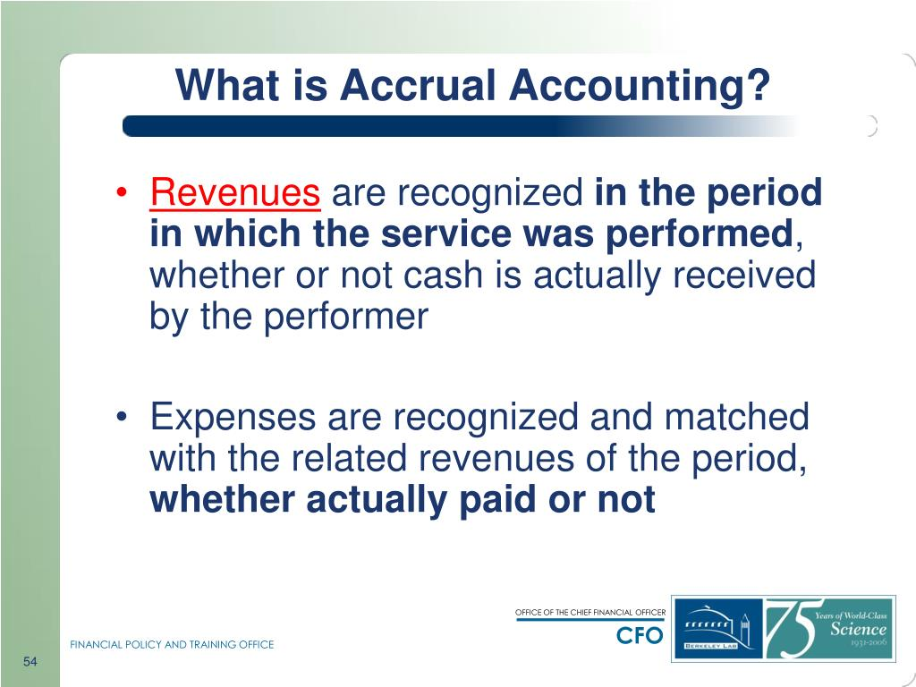 What is Accrual Accounting?