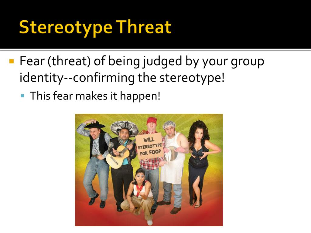 an analysis of the stereotype threat The influence of stereotype threat on immigrants: review and meta-analysis article  stereotype threat,.