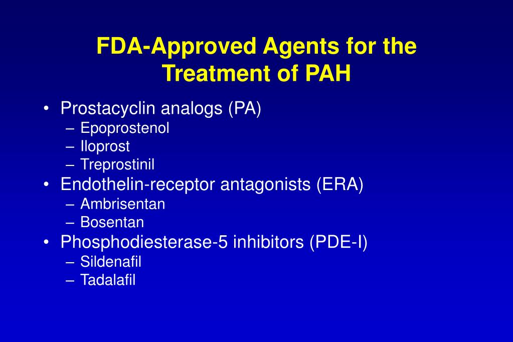 FDA-Approved Agents for the