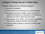 looking at funding kan ed in other states