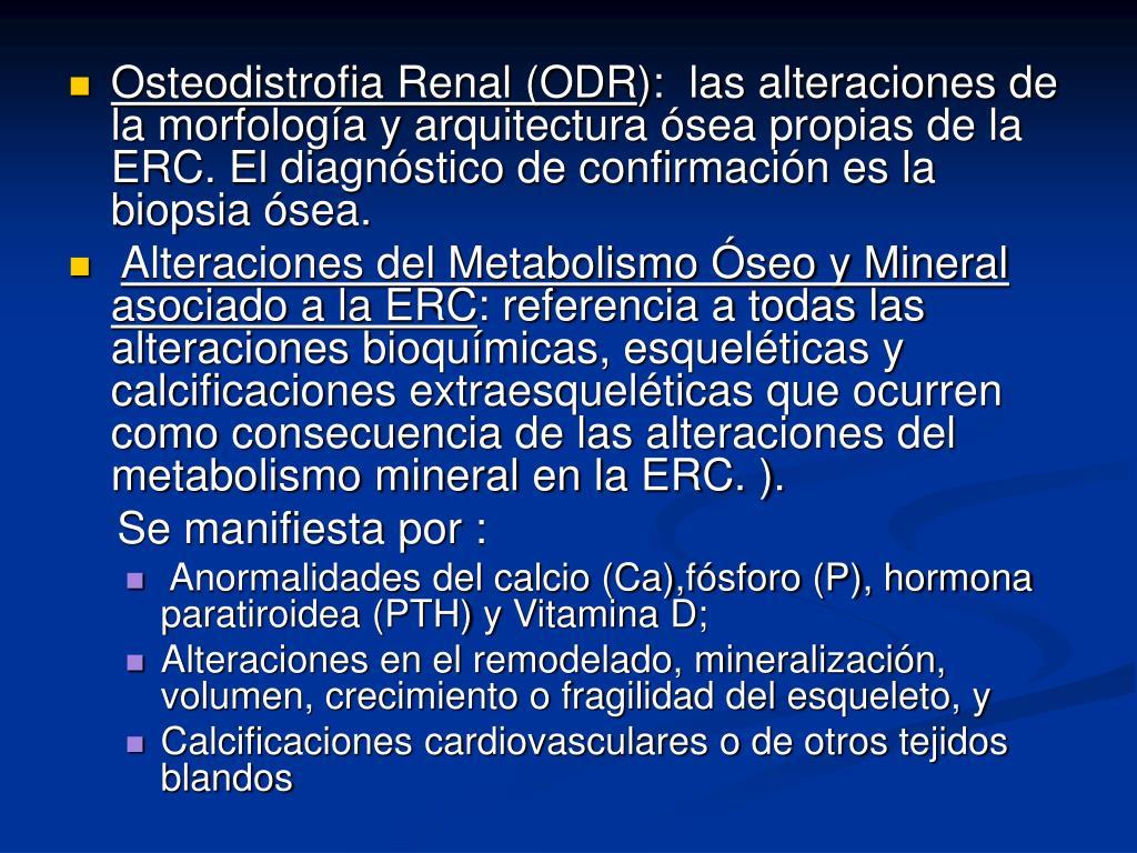 Osteodistrofia Renal (ODR