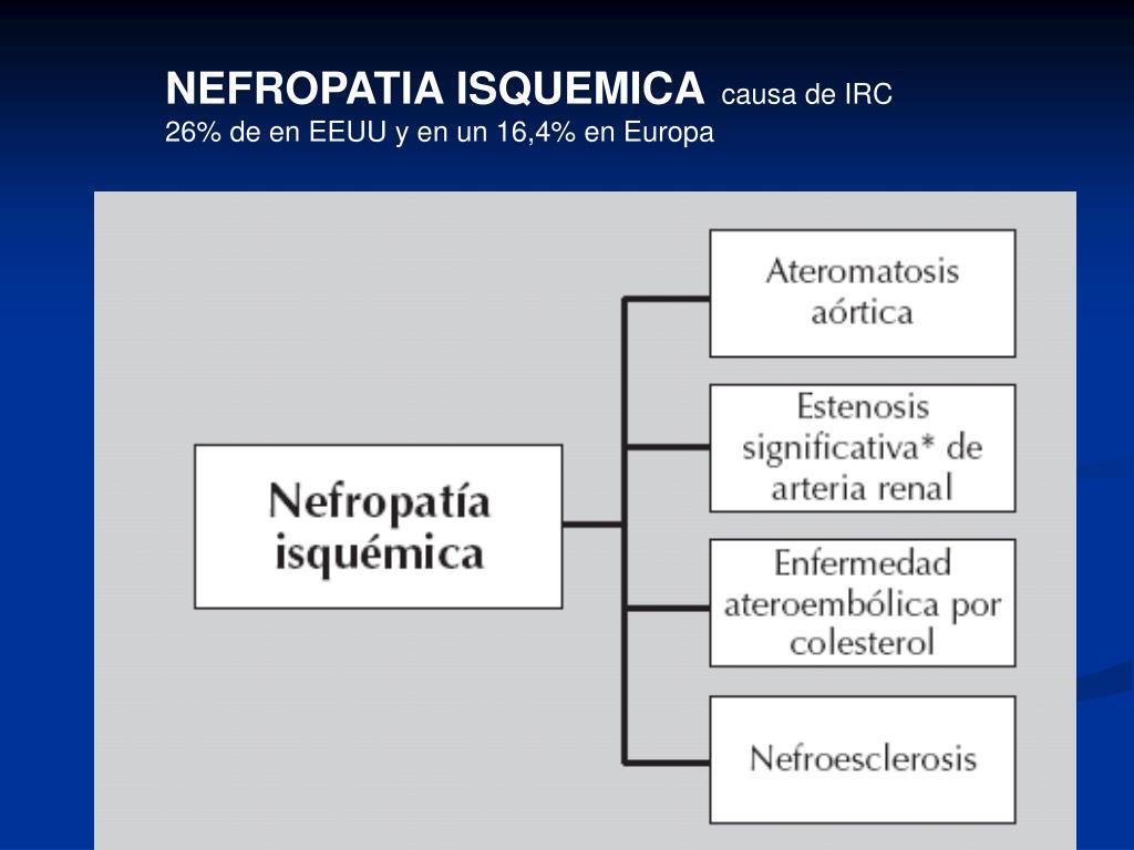NEFROPATIA ISQUEMICA