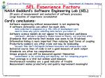 sel experience factory