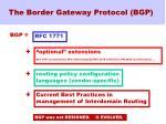 the border gateway protocol bgp