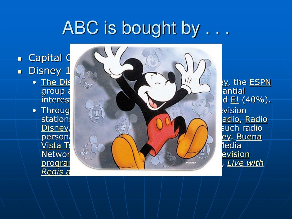 ABC is bought by . . .