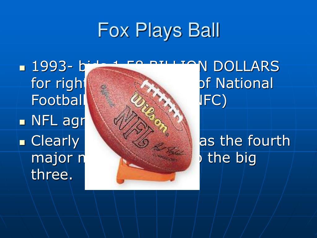 Fox Plays Ball