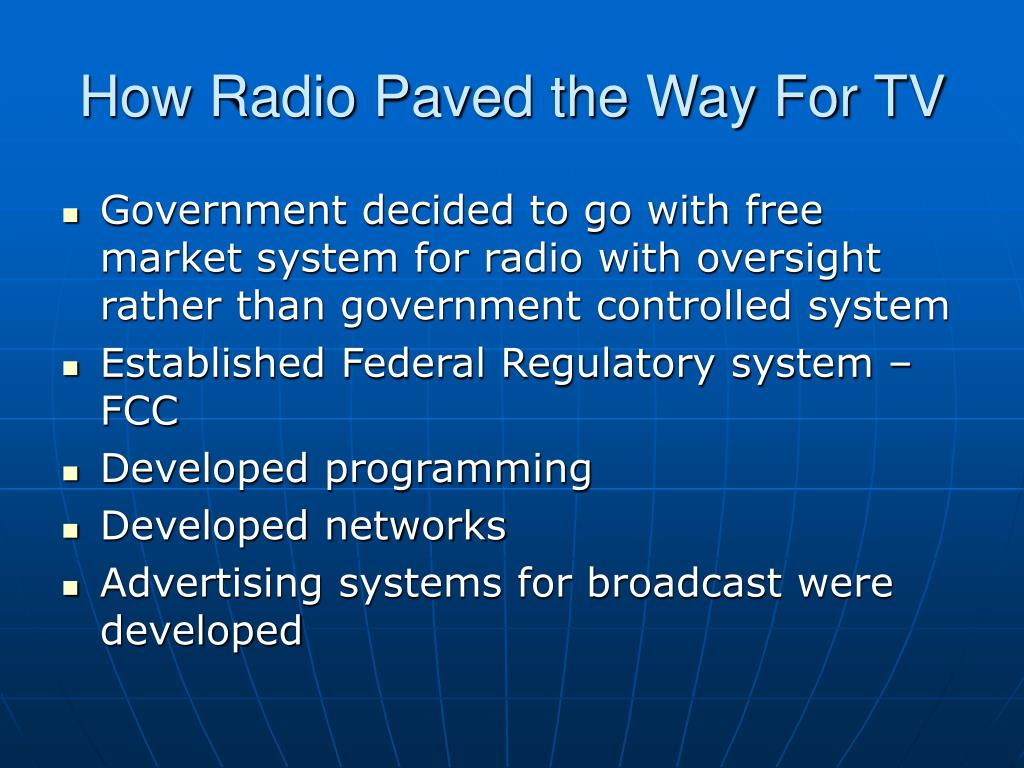 How Radio Paved the Way For TV