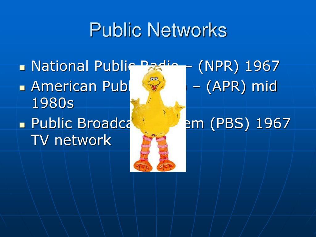 Public Networks