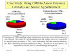 case study using cmb to assess emission estimates and source apportionment