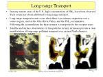 long range transport