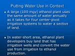 putting water use in context23