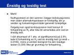 nsidig og tosidig test26