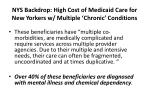 nys backdrop high cost of medicaid care for new yorkers w multiple chronic conditions11