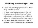 pharmacy into managed care29