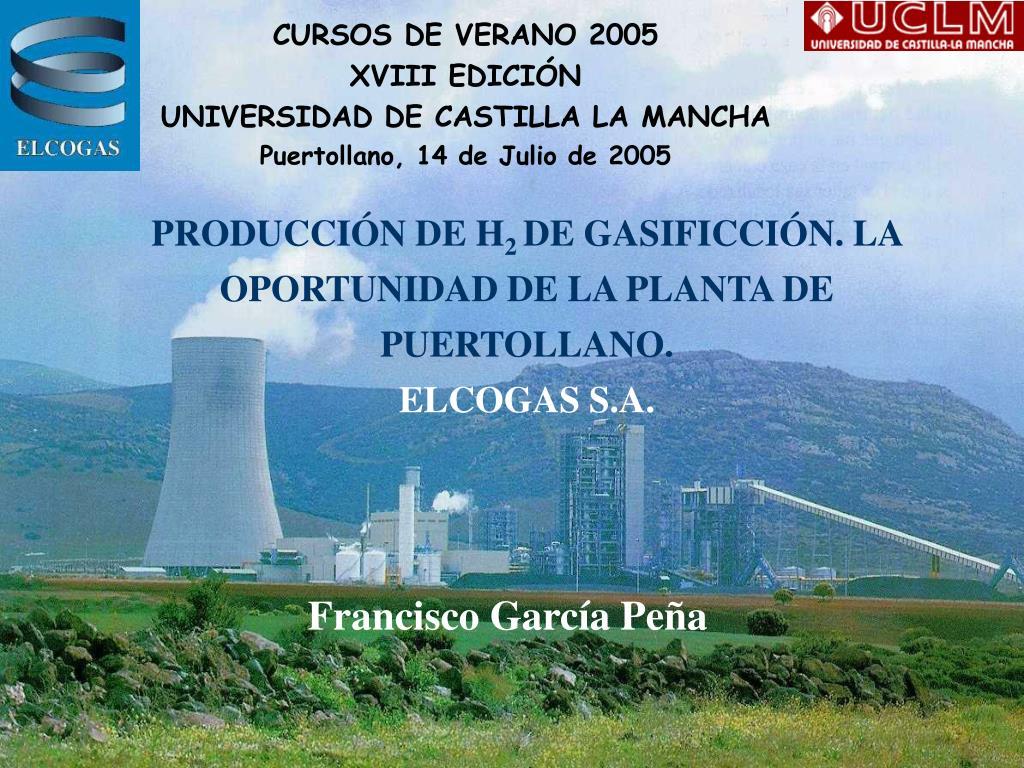 CURSOS DE VERANO 2005