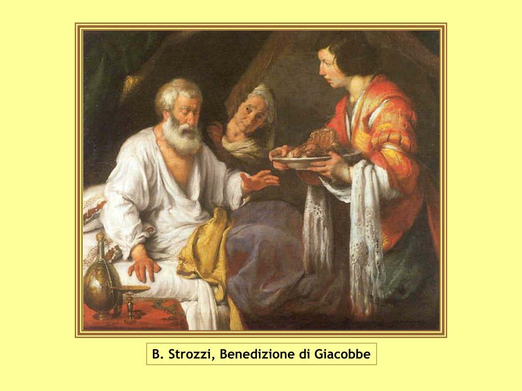 B. Strozzi, Benedizione di Giacobbe