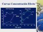 curvas concentraci n efecto