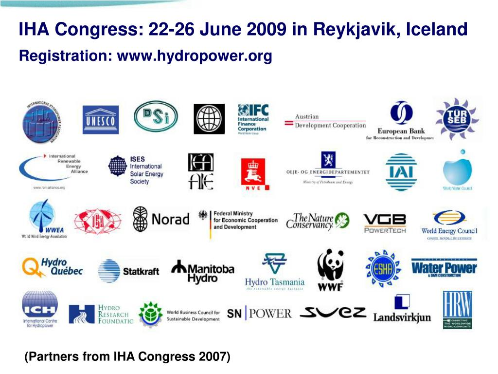 IHA Congress: 22-26 June 2009 in Reykjavik, Iceland