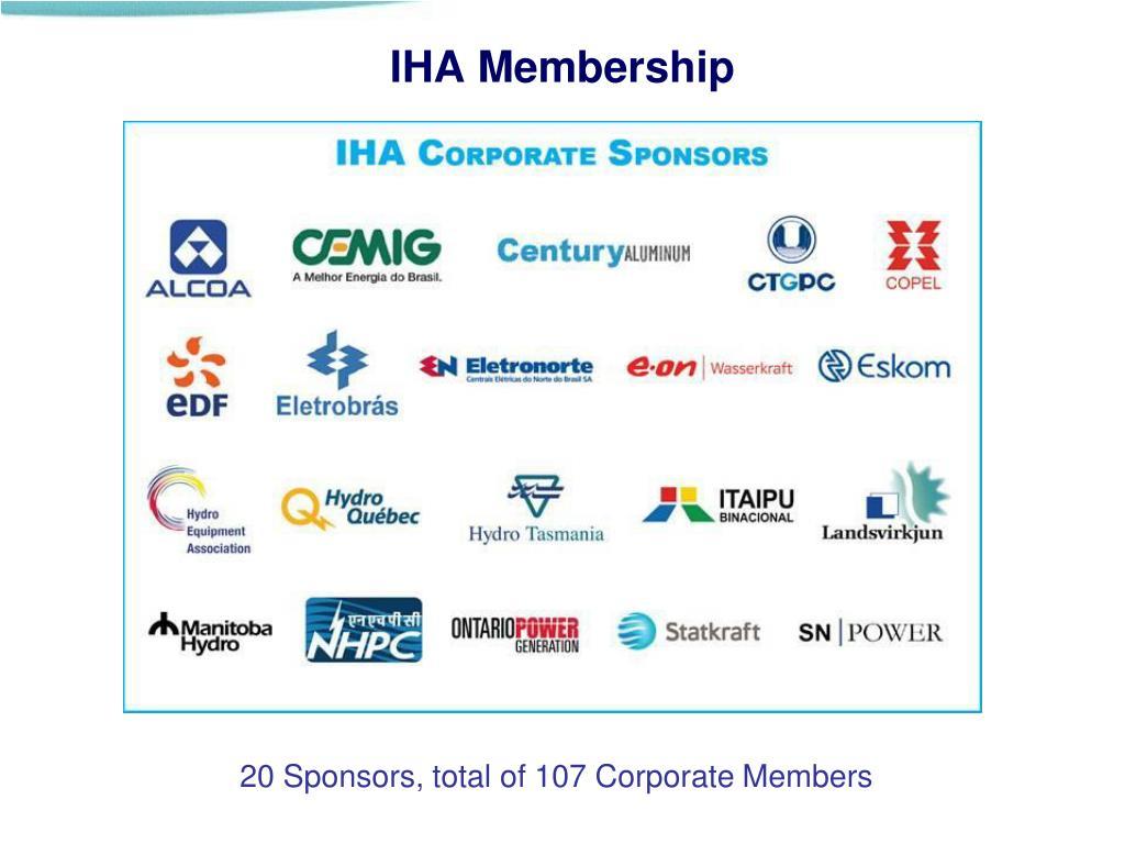 IHA Membership