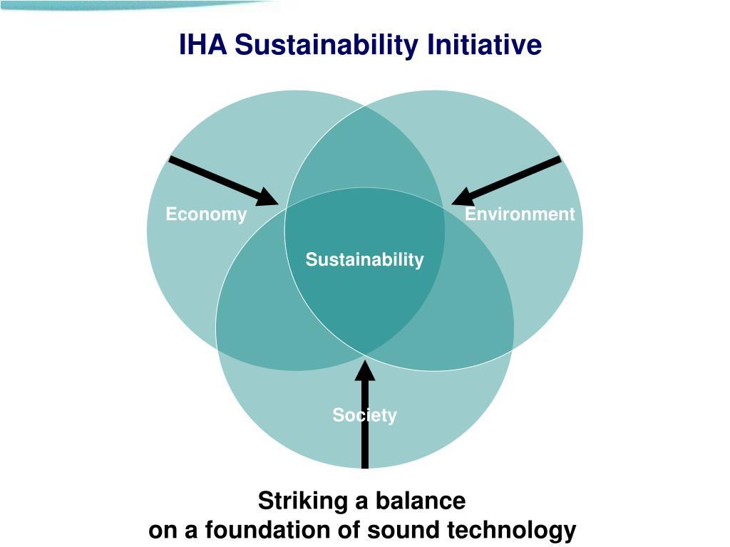 IHA Sustainability Initiative