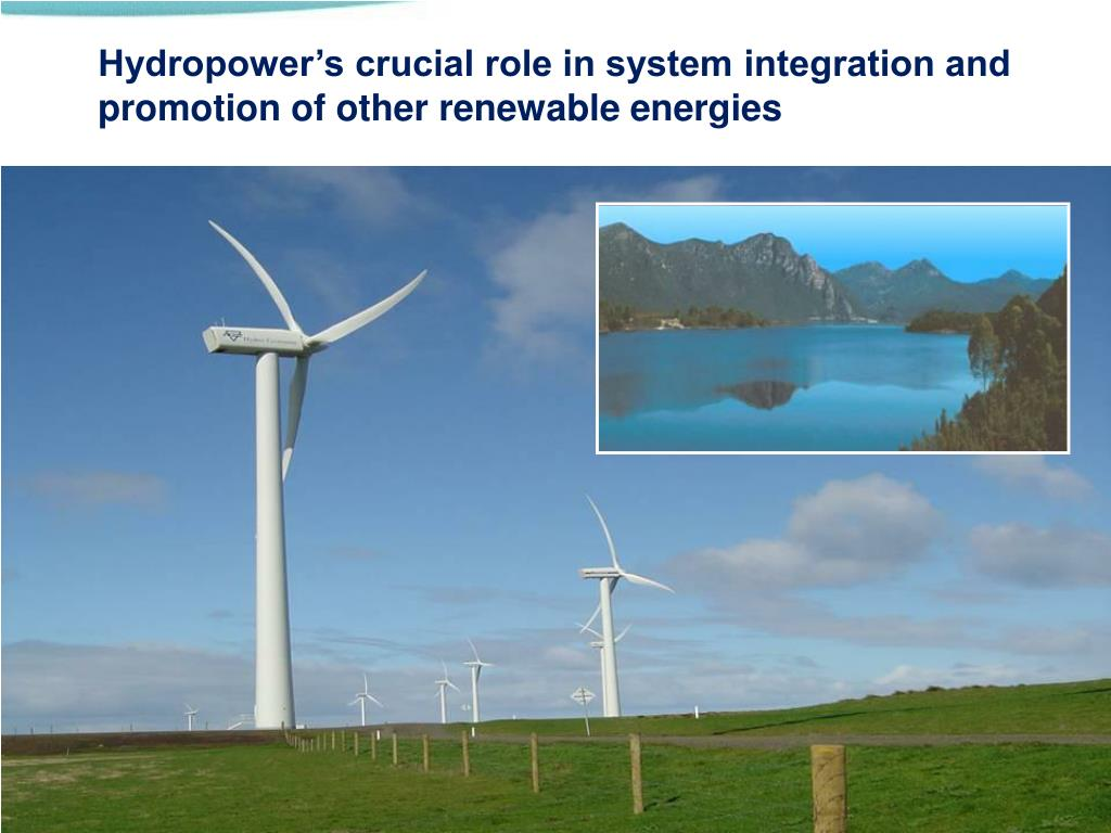 Hydropower contributes to grid stability and stores energy