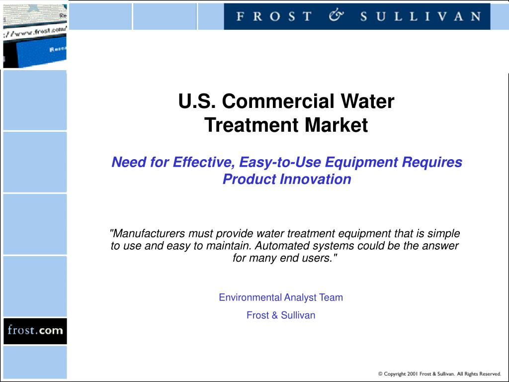 U.S. Commercial Water